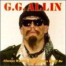 GG Allin & Bulge